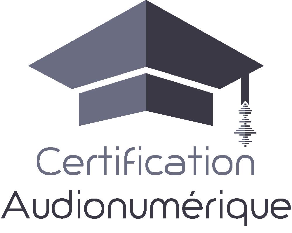 Certification Audionumérique